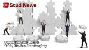 Pengertian Field, Record, Table, File, Dan Data Lengkap