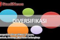 Pengertian Diversifikasi, Tujuan, Bentuk, Strategi, Manfaat